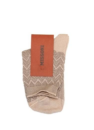 Missoni Çorap Altın